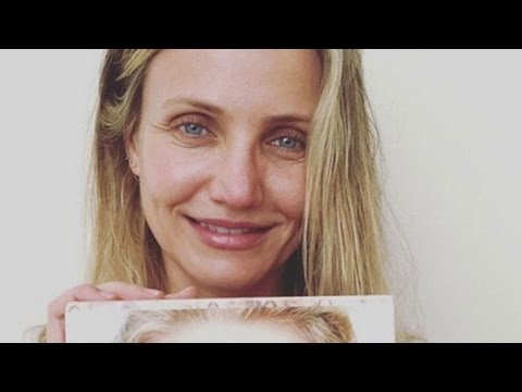 Cameron Diaz Goes Completely Makeup-Free in New Stunning Pic