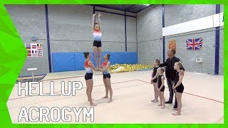 Hellup Acrogym met Pleunie van Mook, Laura Ruisch en Fem van Os | ZAPPSPORT
