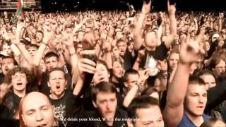 We Drink Your Blood Live POWERWOLF Lyrics HD Masters Of Rock 2015