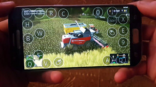 Farming simulator 2017 multiplayer on android(samsung galaxy s7) GemeindeRade map harwesting Ep2