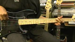 Santana SOUL SACRIFICE Bass Guitar Cover Woodstock 1969 EricBlackmonMusic