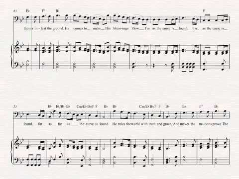 Bass - Joy to the World - Christmas Sheet Music, Chords, & Vocals ...