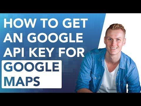 How To Get An Google API Key