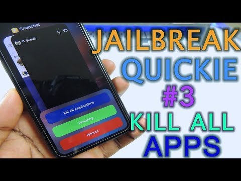Jailbreak Quickie 3 Kill All Apps At Once - YouTube
