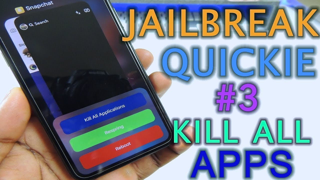 Jailbreak Quickie 3 Kill All Apps At Once