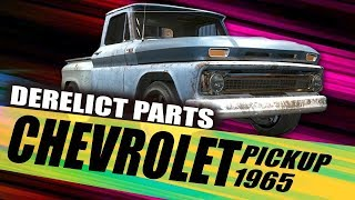 Need for Speed Payback - Chevrolet C10 Derelict Parts