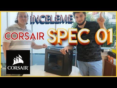 Corsair Carbide SPEC-01 600W Kasa İncelemesi Ve Kutu Açılımı - EN İYİ PERFORMANS EN İYİ FİYAT