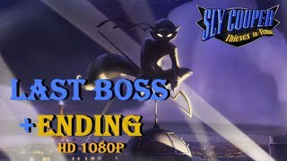 Sly Cooper 4 Thieves in Time Last Boss + Ending (1080p) PS3