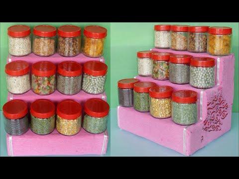 Smart Kitchen Storage | Best out of Waste Idea | Kitchen Organization Ideas | Kitchen Organizer DIY
