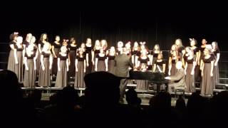Sprayberry High School, A Holiday Concert, December 8, 2016, Flowers in Winter