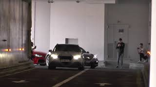 Audi RS3 launch control - LOUD acceleration in tunnel !