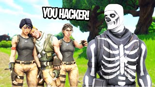 this Fortnite clan said I was hacking