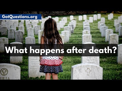 What happens after death? | GotQuestions org