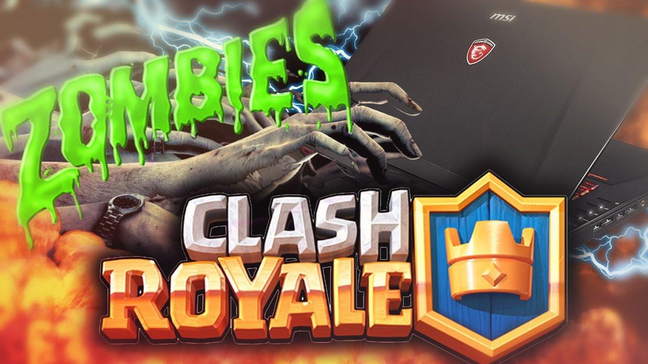 Zombies en Clash Royale (MODS)!! en un SUPER PORTATIL ...