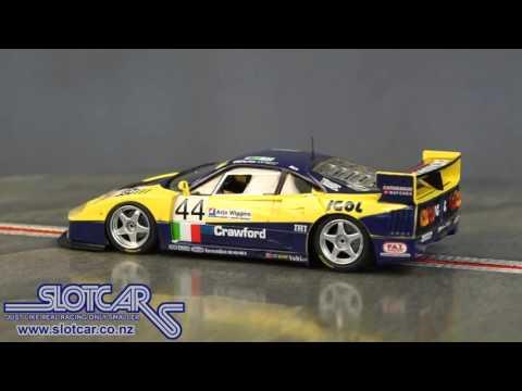 Flyslot Slot Car Ferrari F40 Le Mans 1996 44 Slotcar 049101