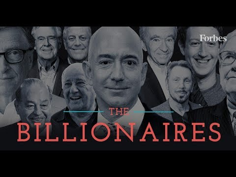 Forbes Top 10 Billionaires List 2019 !!! And net worth