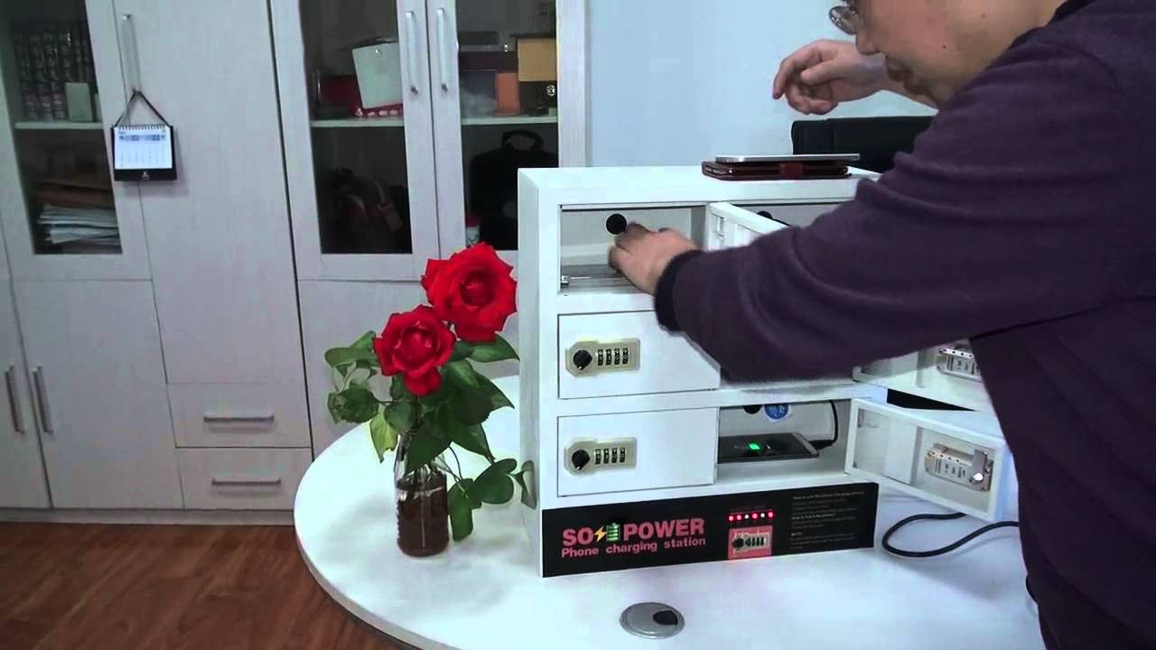 Sopower Cell Phone Charging Station Youtube