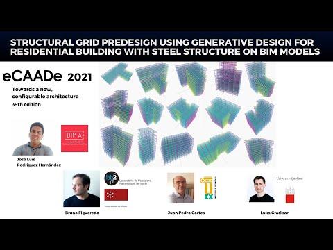 Structural grid predesign using generative design | eCCADe 2021