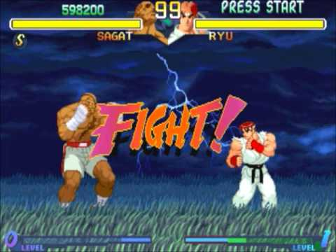 sagat ryu street fighter
