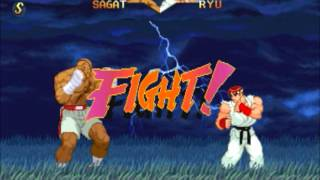 Street Fighter Classic Fights- Sagat vs. Ryu (Street Fighter Alpha 2)