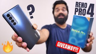 Oppo Reno 4 Pro Unboxing & First Look | 90Hz AMOLED | 65W | 48MP Quad CAM | GIVEAWAY