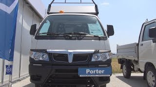 Piaggio Porter Maxxi Long Base Tipper Truck (2018) Exterior and Interior