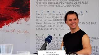 Teodor Currentzis   TerraceTalk   Salzburg Festival 2018