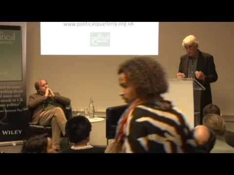 Political Quarterly lecture 19 January 2016