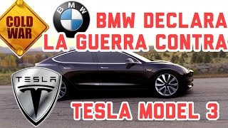 Bmw declara la guerra al Tesla Model 3 #waitordrive