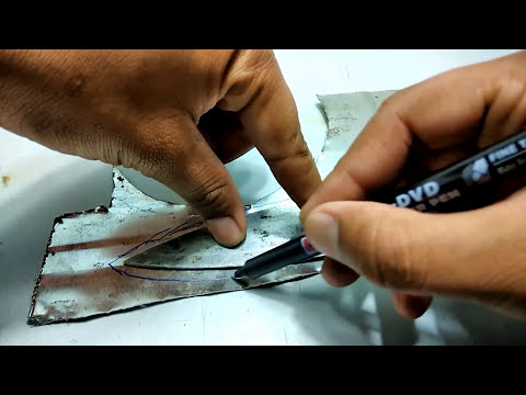 Cutting Hand Magic Trick !! Amazing !!