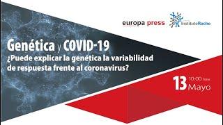 """Encuentro digital """"Genética y COVID-19"""""""