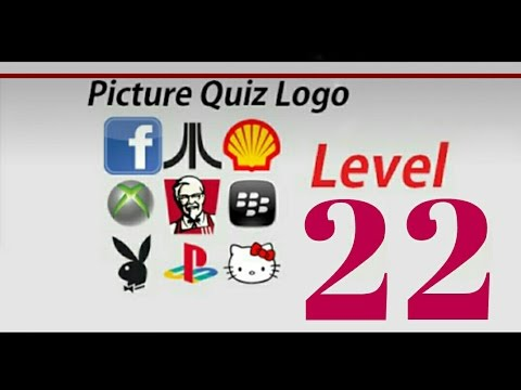 Picture quiz logos level 22 answers on video youtube