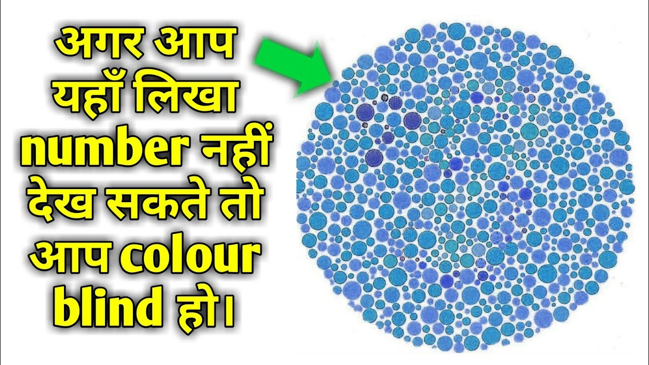 Colour Blindness Test (Hindi)