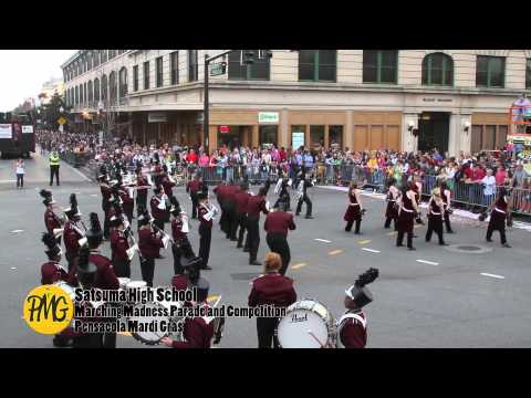 Satsuma High School at Marching Madness Parade and Competition
