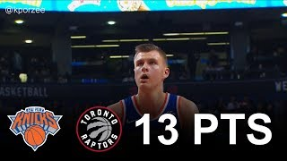 Kristaps Porzingis Full Highlights 2017.11.17 at Raptors - 13 Pts, 4 Reb, 4 Blk