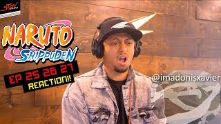 First Time Watching Naruto Shippuden Episodes 25 26 27 Reaction