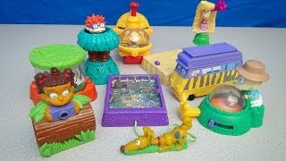 Rugrats Go Wild The Movie 2003 Burger King Big Kid's Meal Toy Collection Video Review