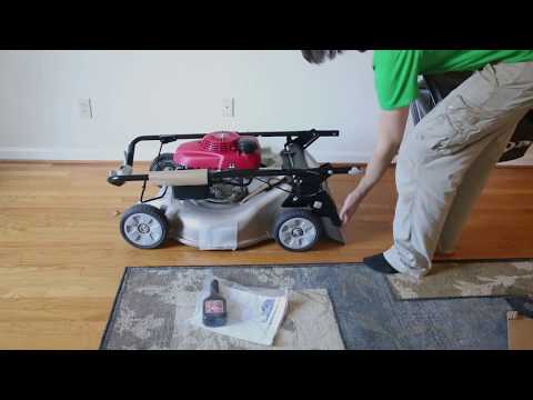 Unboxing Honda Lawnmower HRR216K9VKA