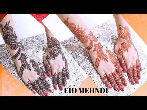 EID SPECIAL MEHNDI DESIGN TUTORIAL   | SidraMehran thumbnail