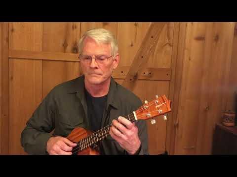 Bourree from Partita 3 (BWV 1006) by J S Bach, Daniel Estrem, ukulele