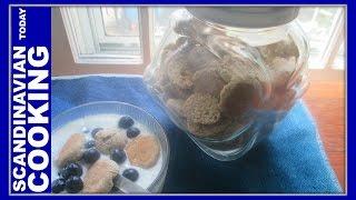 Kammerjunker - Danish Biscuit For Kærnemælkskoldskål