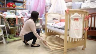 видео Приставная детская кроватка для новорожденных: преимущества и фото