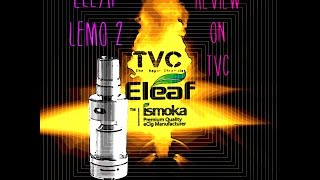 Eleaf LEMO 2 Review On TVC