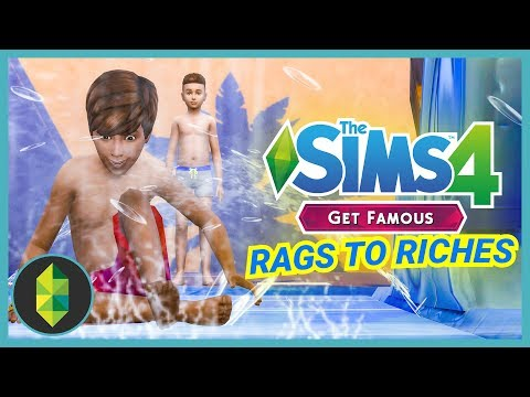 THEIR BEST LIFE - Part 16 - Rags to Riches (Sims 4 Get Famous)