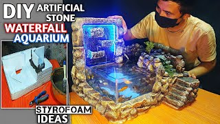 Making Waterfall Aquarium Mini…