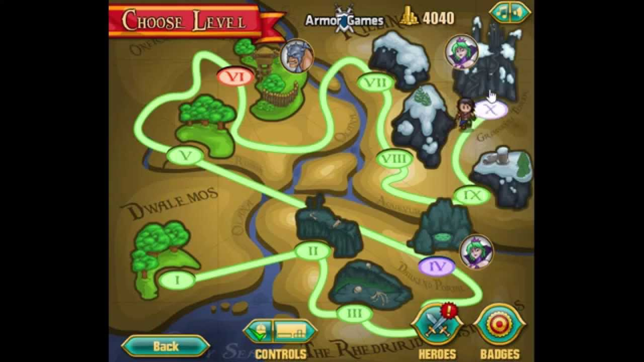 Band Of Heroes Walkthrough   All Level's Completed   Free Online ...