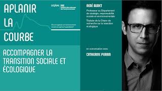 Entretien: «Accompagner la transition sociale et écologique» avec René Audet