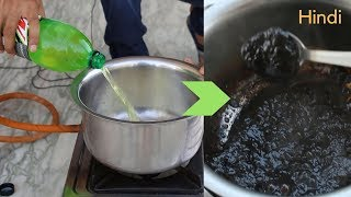 Boiling Mountain Dew to get Sugar   Experiment by Blade XYZ   Hindi