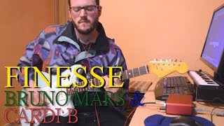 Baixar Finesse | Bruno Mars & Cardi B | Guitar Cover Chords