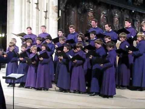 Durham Cathedral Choir At Notre Dame